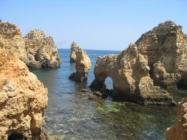 Cliffs of the Algarve, ©Sebastian Fuss/Flickr