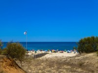 Beaches in eastern Algarve region